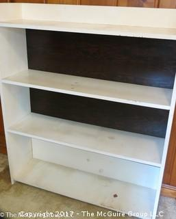 Wooden Book Case; 42W x 11 1/2D x 48T
