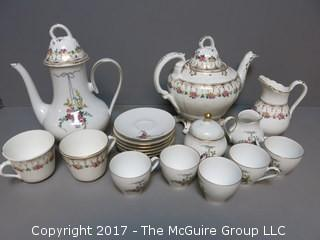 Eschenbach Bavarian Tea/Coffee Serving Set