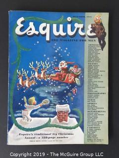December 1945 Esquire Magazine