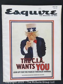June 1963 Esquire Magazine