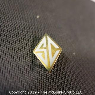 Jewelry: Three Gold Items (review all photos) (TMG 733)