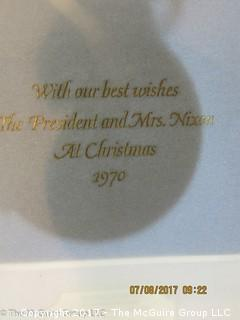 1970 WH Gift of President and Mrs. Nixon