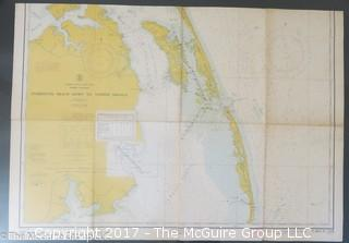 North Carolina Nautical Map