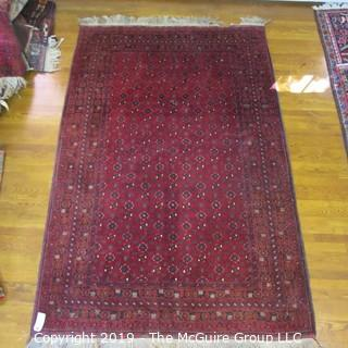 Collectible: Antique: Textile: Oriental Rug: Large 63x104 (TMG 705)