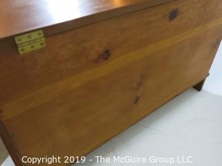"Furniture: Vintage: Antique: Pine 'Blanket Box/Chest; 38W x 18D x 23""T"