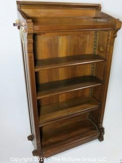 "Furniture: Vintage: Antique: Book Shelf; 32 1/2W x 12 1/2D x 54""T; Very Nice LOOK"