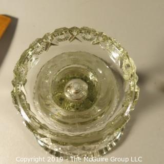 Glass: EAPG: Base for Punch Bowl