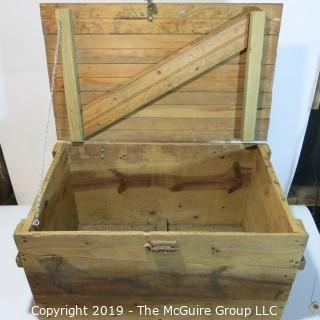 Furniture: Vintage: Antique: Home-made Camping Box from the '50's