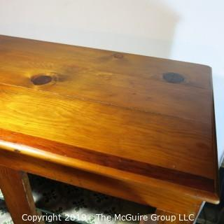 Furniture: Vintage: Antique: Pine Pie-Safe/Larder repurposed into a record player cabinet w/speaker WAY COOL!