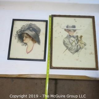 Art: Prints: Victorian Ladies
