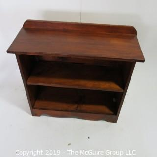 "Furniture: Vintage: Antique: Pine Book Shelf; 31W x 12D x 26 1/2""T"
