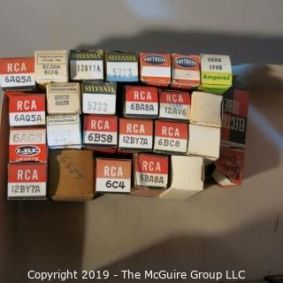Collectible: Vacuum Tubes: RCA; WYSIWYG