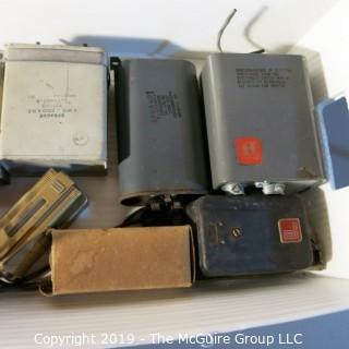Vintage: Electronics: Parts: Capacitors - etc  WYSIWYG