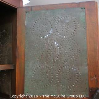 "Furniture: Vintage: Antique: Tall Pie Safe 1 lower drawer; 31 x 15 x 58""T"
