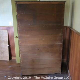 "Furniture: Vintage: Kitchen Hutch/Cabinet 1-piece 5-drawers 6-shelves; 44 x 22 x 73""T"