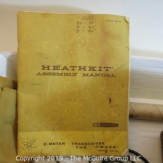 Vintage: Electronics: Heathkit Amature Radio Transceiver