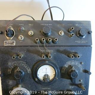 Vintage: Electronics: Impedence Bridge and Amplifer