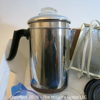 Kitchen Coffee Pot and related items
