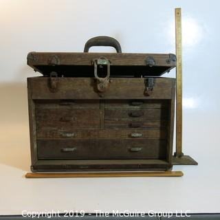 Vintage: Tool/Jewelry Case (restoration project)