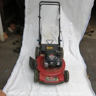 Hpusehold: Lawn: Toro Mower - untested