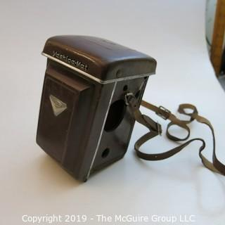 Collectible: Photography: VTG: Yashica YashicaMat 120 film camera w/ attachments