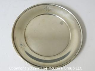 Collectible: Silver: Set of 7 sterling saucers; 602g