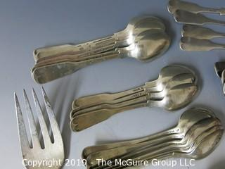 Collectible: Silver: Collection of sterling flatware - all same pattern; 2030g