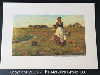 Art: Print: Collection: 8 pieces by Harvey Dunn - Western Americana Theme