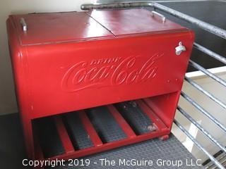 Coca Cola Ice Box