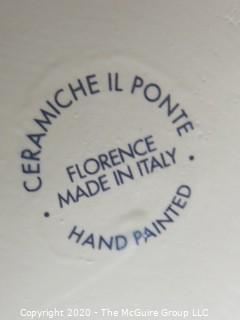 Ceramiche Il Ponte Hand Painted Canister Made in Italy