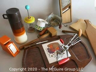 Miscellaneous Group of Serving Pieces & Kitchenania