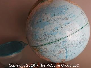 Globe on Stand and Miscellaneous Tools, etc