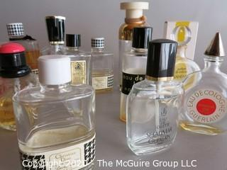 Collection of Perfume Bottles - Incl Christian Dior, Shalimar, Yves Saint Laurent