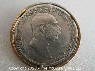 Silver (.835) Coin