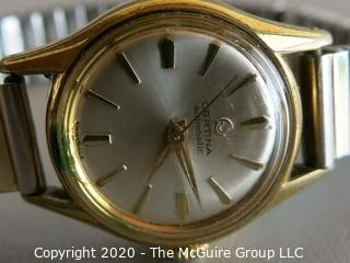 Men's Certina Automatic Gold Wrist Watch on Band