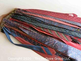 Group of Men's Vintage Neck Ties B
