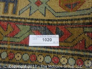 Wool Oriental Carpet; 57 x 84