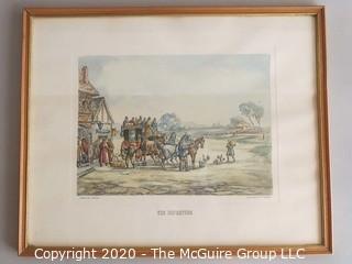 The Departure - Framed Print