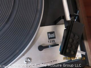 DUAL 1225 Turntable with Dust Cover