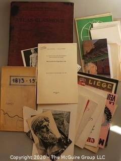 Vintage Papers and Travel Items
