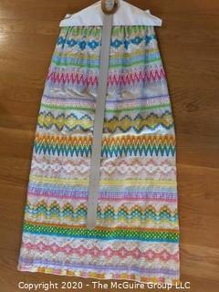 Pastel Woven Long Skirt