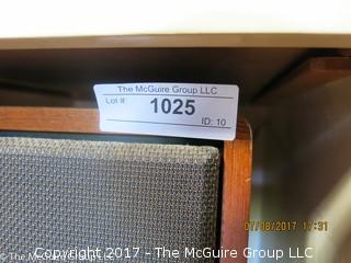 Pair of Kirksaeter (German); Monitor 130 Speakers; 10 1/2W x 9 1/2D x 18 1/2T