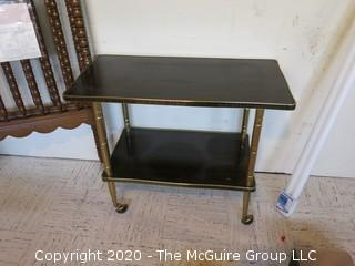 Side Table or Cart on Wheels