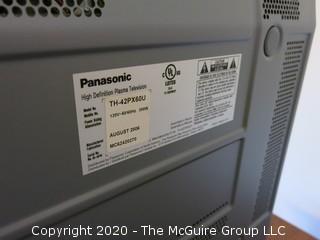 "Panasonic Flat Screen HD Television 41"" TV"