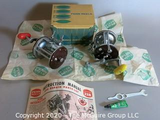 (2) Vintage PENN 500M Saltwater Fishing Reels; 1 with original box