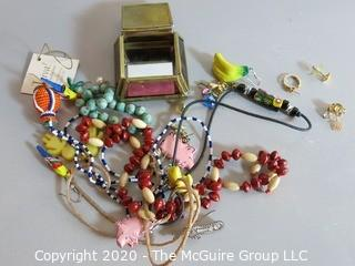 Collection of Assorted Costume Jewelry