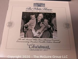 2017 White House Official Holiday Ornament - in box