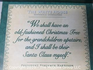 2008 White House Official Holiday Ornament - in box