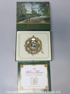 2005 White House Official Holiday Ornament - in box