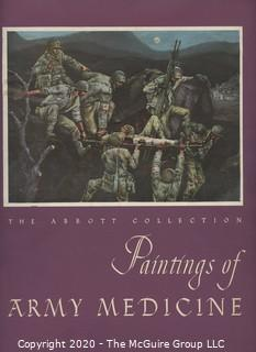 "Book Title: ""Painting of Army Medicine"" from the Abbott Collection"""
